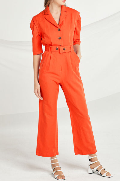 Alivia Pintuck Jumpsuit by STORETS