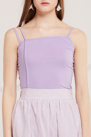 Arely Slit Cami Top