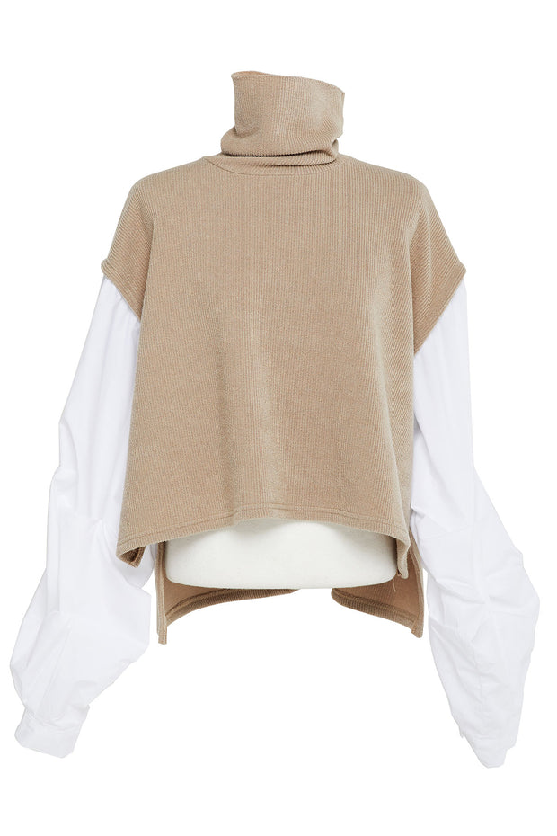 Sherry Layered Turtleneck-2 Colors