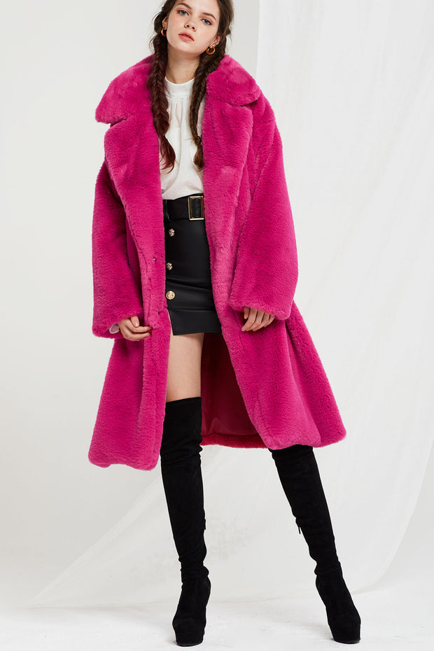 Edina Faux Fur Coat