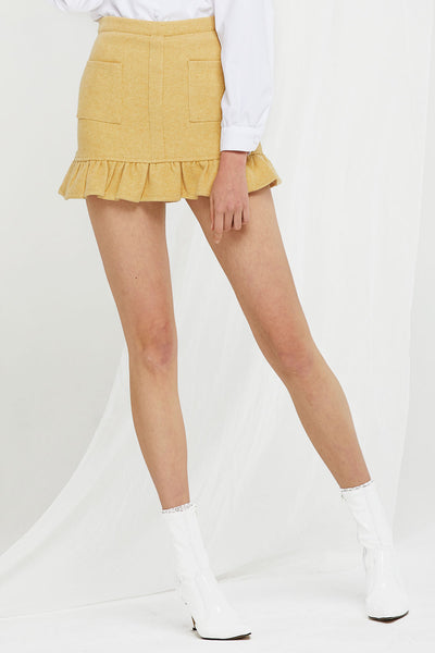 Selena Ruffled Pocket Skirt