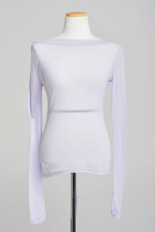 Basic Skinny Boatneck Top-3 Colors