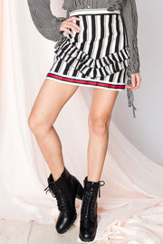 Celia Stripe And Stripe Skirt