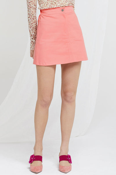 Janny Mini Skirt in Pink