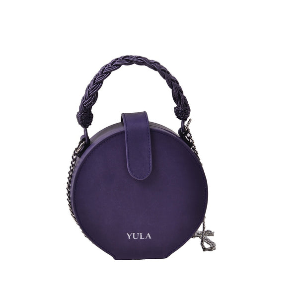 1931 Dara Round Bag - Purple