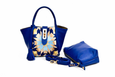 Lumsi Small Satchel Bag - Cobalt blue