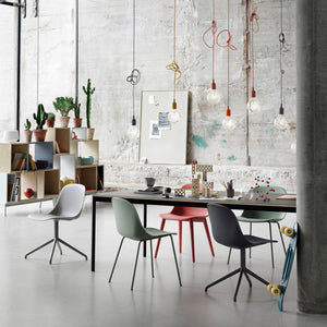Muuto Fiber side chair sled base - oosterlinck