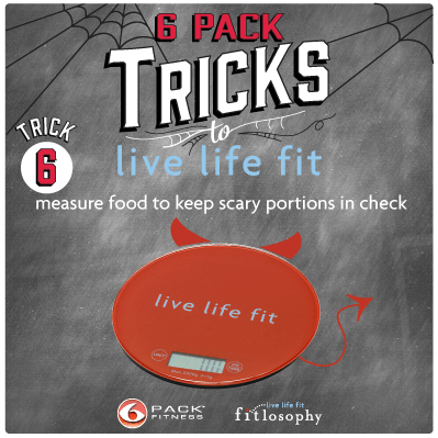6 Pack Tricks To Live Life Fit: Trick #6 Keep Scary Portions In Check