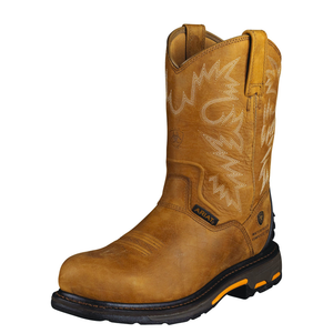 'Ariat' 10004889 - Workhog RT Composite Toe Waterproof Boot - Rugged Bark / Tan