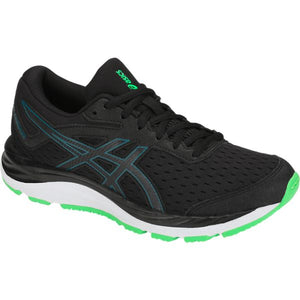 'ASICS' 1014A003 001 - Youth Gel Cumulus 20 GS Shoe - Black / Green