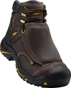 "6"" Mt. Vernon External Met Guard Boot - Brown / Black"