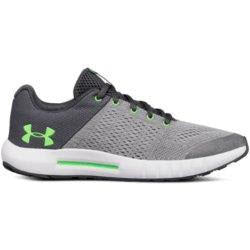 'Under Armour' 3020770 103 - Grade School Pursuit - Steel / Green