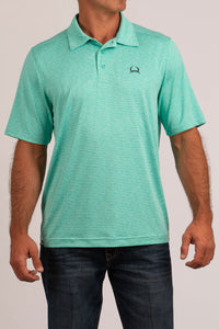 'Cinch' MTK1831003 - SS ArenaFlex Polo Shirt - Mint