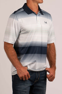 'Cinch' MTK1833003 - SS ArenaFlex Polo Shirt - Multi
