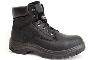 "651 6"" Steel Toe Work Boot Waterproof - Black"