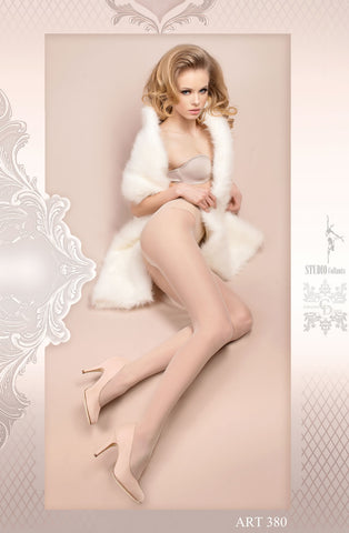 Image of White Pantyhose