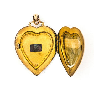 Starburst Heart Locket