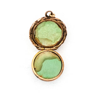 Pool of Light Rock Crystal Locket