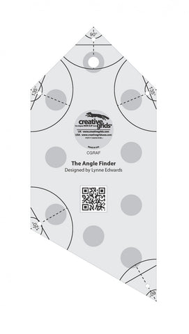 Angle Finder, Non-Slip Quilt Ruler from Creative Grids, #CGRAF