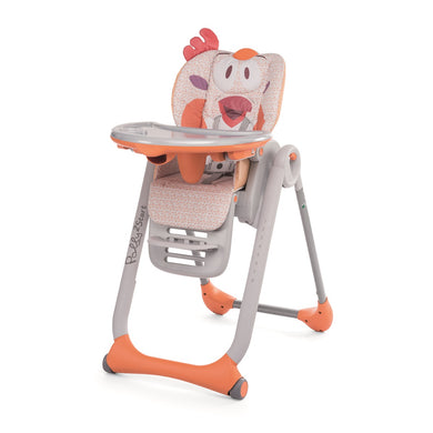 Baby equipment rental in Lisbon, Portugal. Chicco highchair so that eating more smooth and fun.
