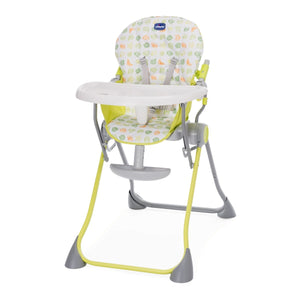 Baby equipment rental in Lisbon, Portugal. Chicco highchair so that eating is more smooth and fun.