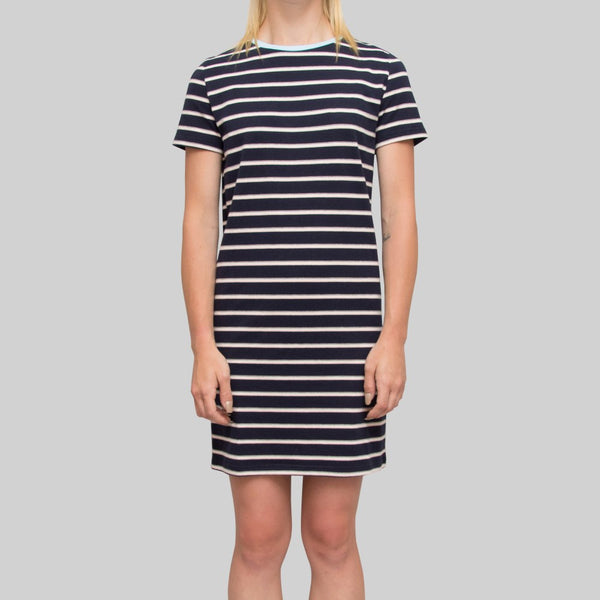 Womens Lola Dress Navy