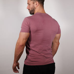 Clifford Lenox Faded Tee - Mauve