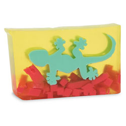 Primal Elements Handmade Glycerin Soap, Gecko