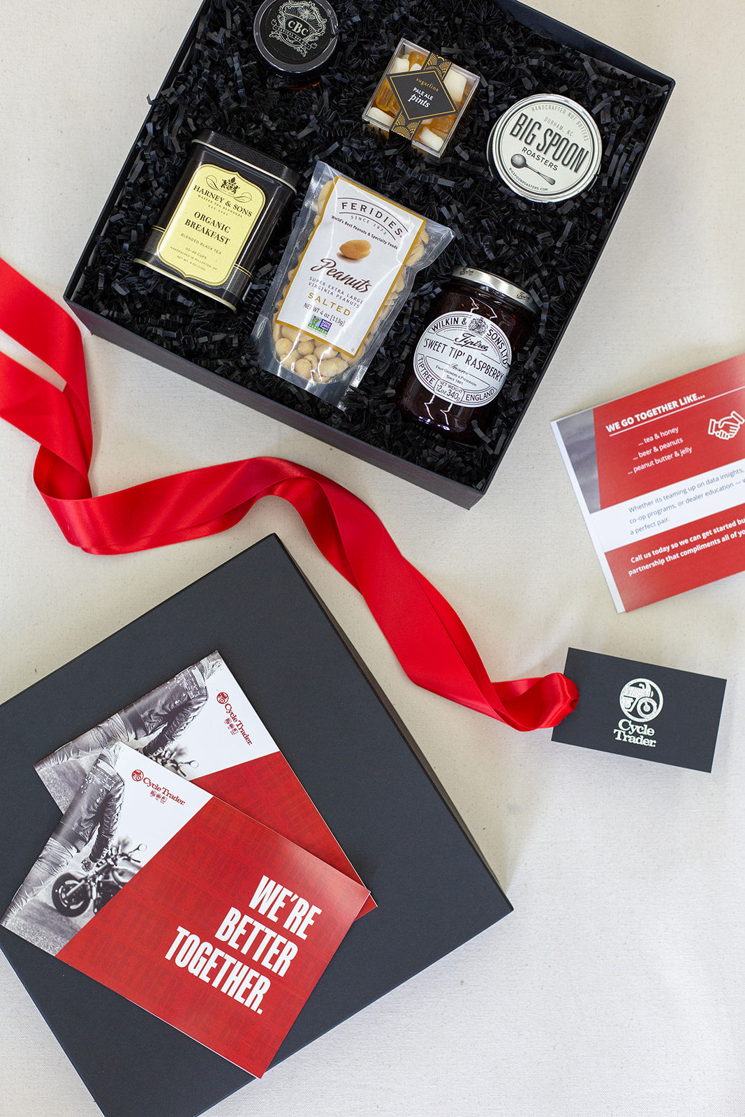 Luxury client gift boxes