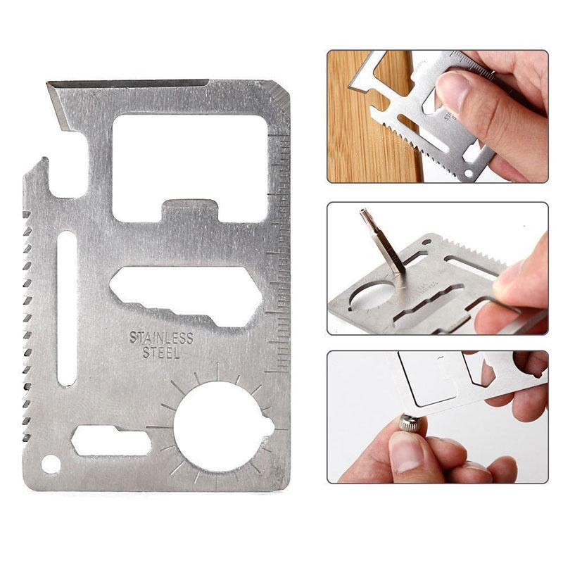 Stainless Steel Survival Pocket Tool