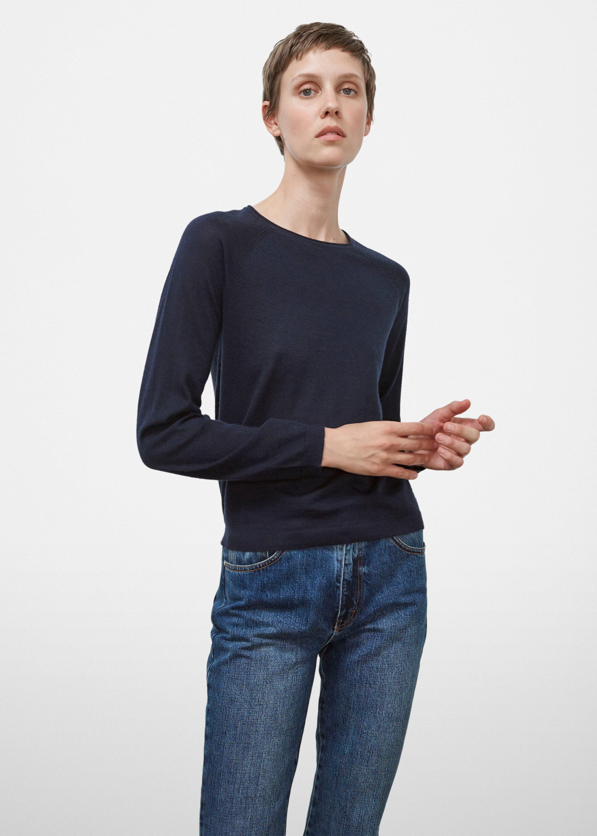 Raglan Sleeve Sweater