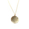 Hammered Disc Necklace - Shelter Jewelry Shop DC