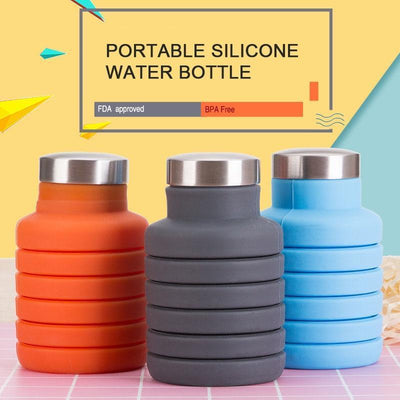 500ML Outdoor Collapsible Water Bottle Water Bottles ZOOOBE CLASSIC Store