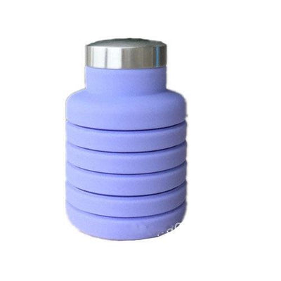 500ML Outdoor Collapsible Water Bottle Water Bottles ZOOOBE CLASSIC Store 500ML Purple