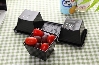 CTRL ALT DEL CUP CONTAINERS Penguin Delivery Black