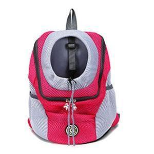 Pet Backpack Carrier Dog Carriers Venxuis Official Store Red 30x34x16 cm