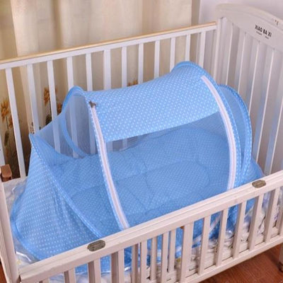 Portable Anti-Mosquito Baby Crib Cradle kissbuyonline