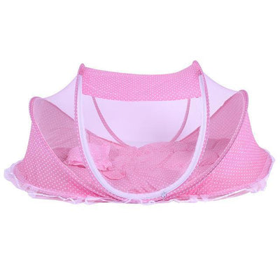 Portable Anti-Mosquito Baby Crib Cradle kissbuyonline Pink