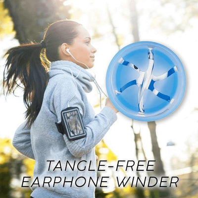Tangle-Free Earphones Winder Cable Winder Listening to Life Store