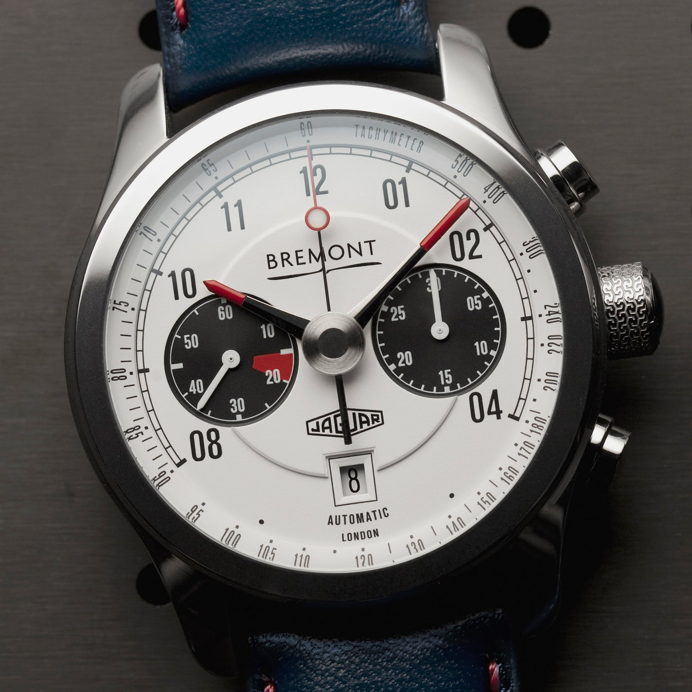 Bremont Jaguar MKII White Lifestyle 1