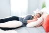 Lounge Town The C Body Pillow White
