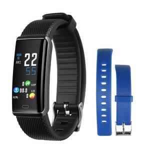 Smart Wristband Pedometer Heart Rate Sleep Monitor