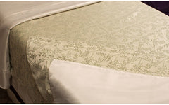 Cream & Bamboo Jacquard Tea