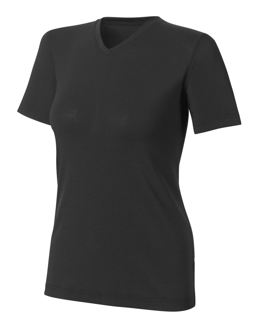Duofold Varitherm Silk-Weight Short-Sleeve V-Neck Women's T Shirt