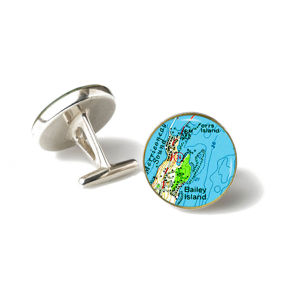 Bailey Island 1 Cufflinks