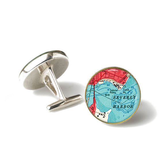 Beverly Harbor Cufflinks