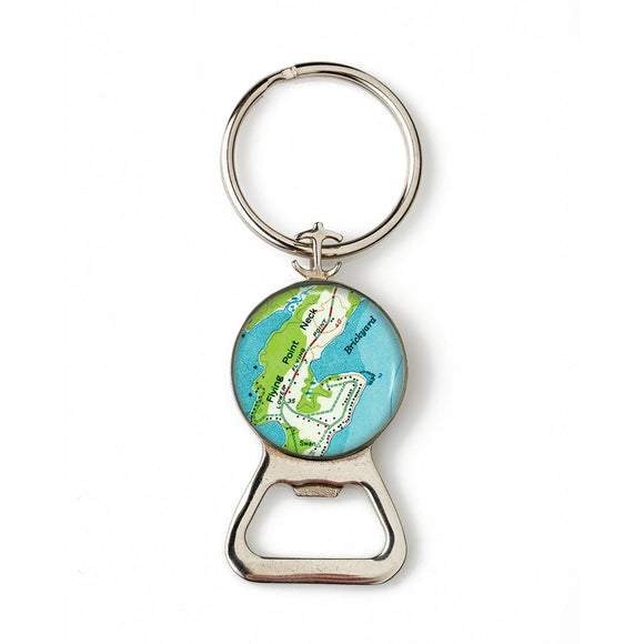 Freeport Flying Point Neck Combination Bottle Opener With Key Ring