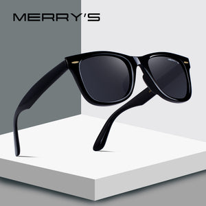 Women Classic Retro Rivet Polarized Sunglasses 100% UV Protection