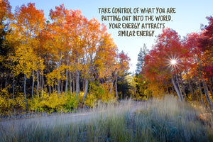 Take Control of Your Energy Inspirational Art