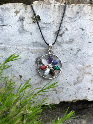Healing Natural Gemstone Pendant